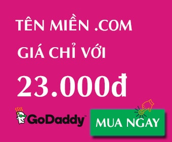 $.99* .COM Domain! You be you with GoDaddy!
